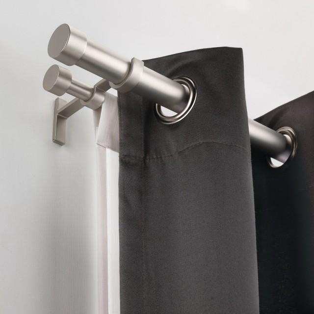 Double Curtain Rod Ceiling Bracket