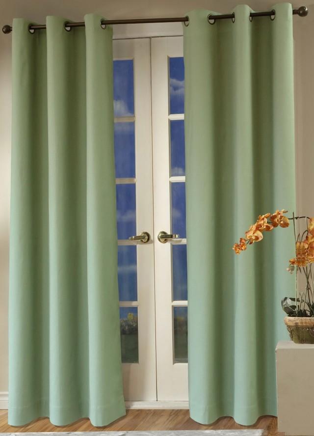 Double Wide Curtains Grommets