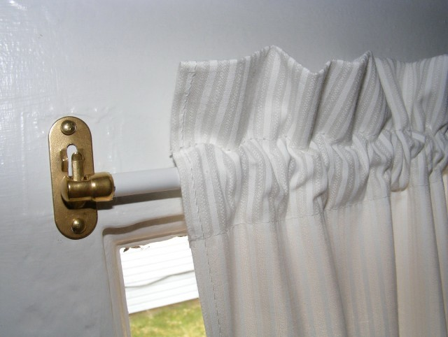 Hinged Curtain Rod For Doors Home Design Ideas