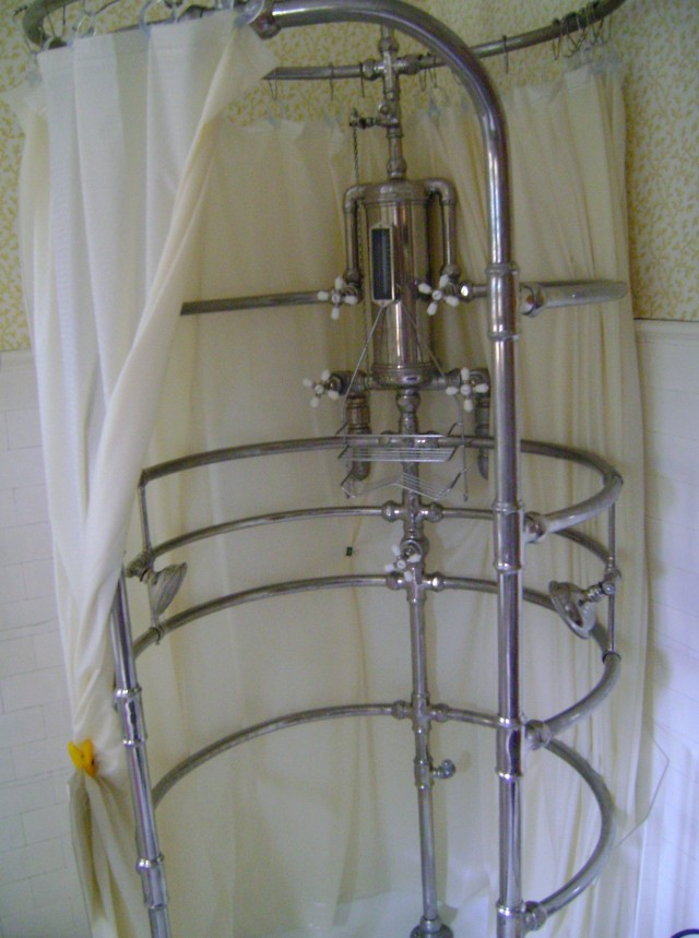Free Standing Shower Curtain Rod