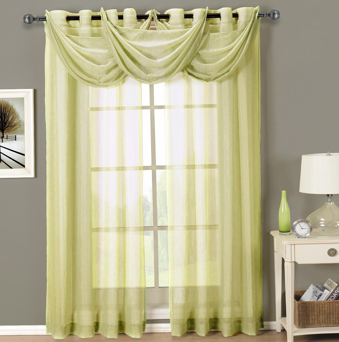 Grommet Sheer Curtains 96
