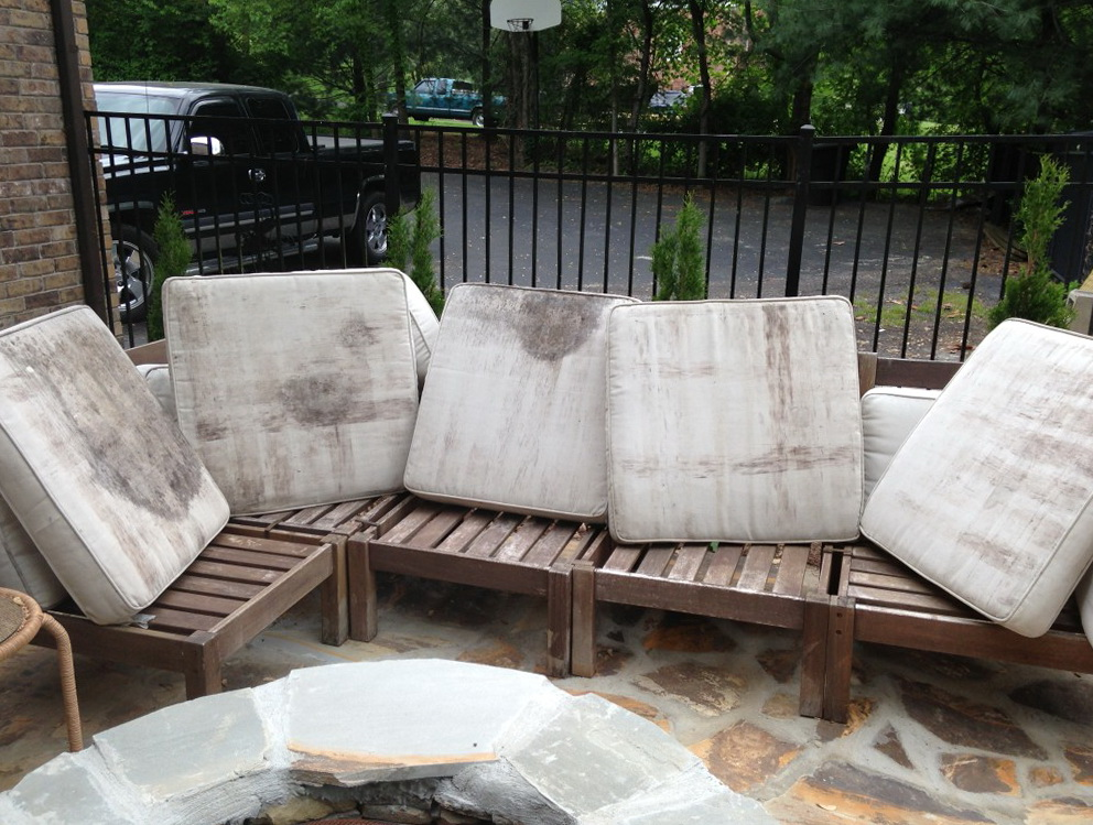 How To Clean Outdoor Cushions Home Design Ideas