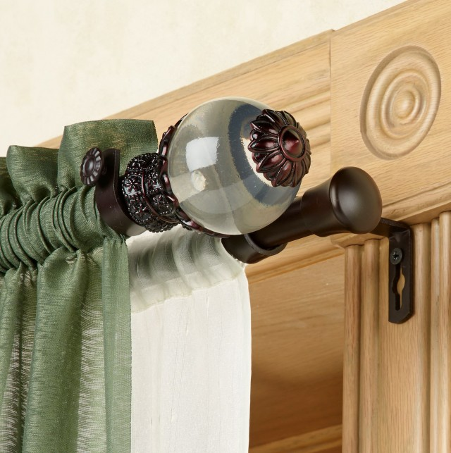 I Beam Curtain Rod Installation