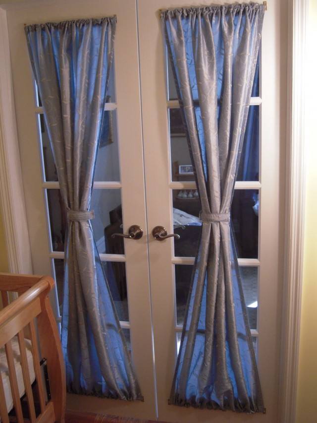 Ideas For Curtains For French Doors