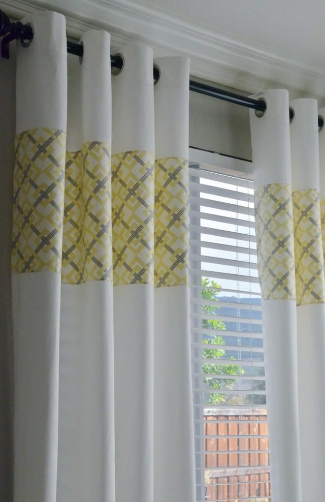 Ikea Lenda Curtains Yellow