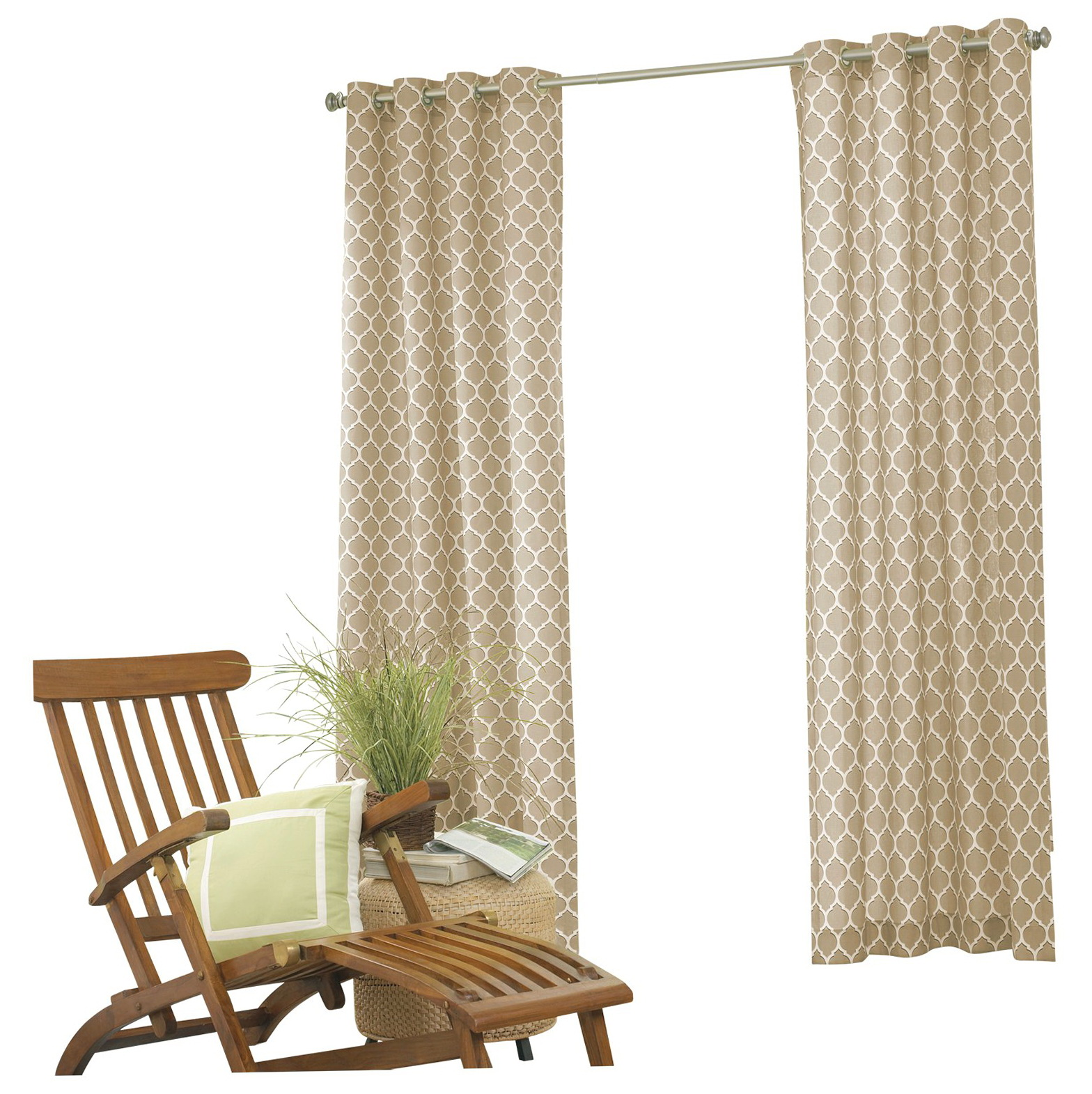 Indoor Outdoor Curtains Grommets Home Design Ideas