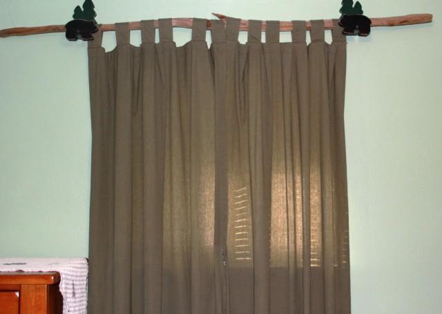 Industrial Curtain Rod Ideas