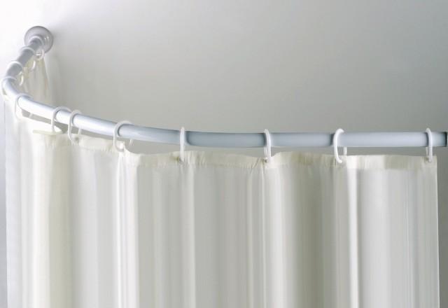 Industrial Shower Curtain Rod