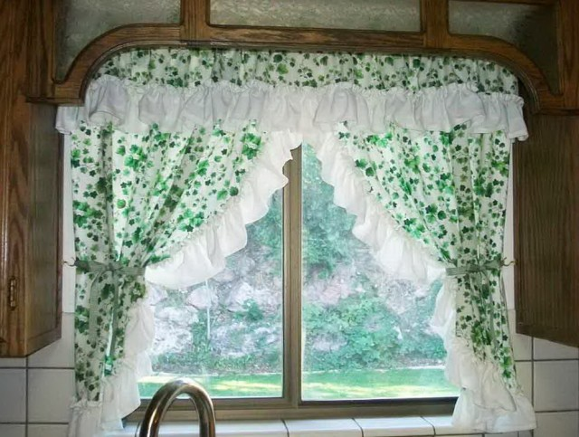 Valance curtain patterns to sew home design ideas - Kitchen valance patterns ...