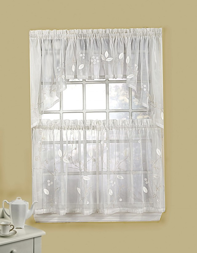Kitchen Curtain With Valance