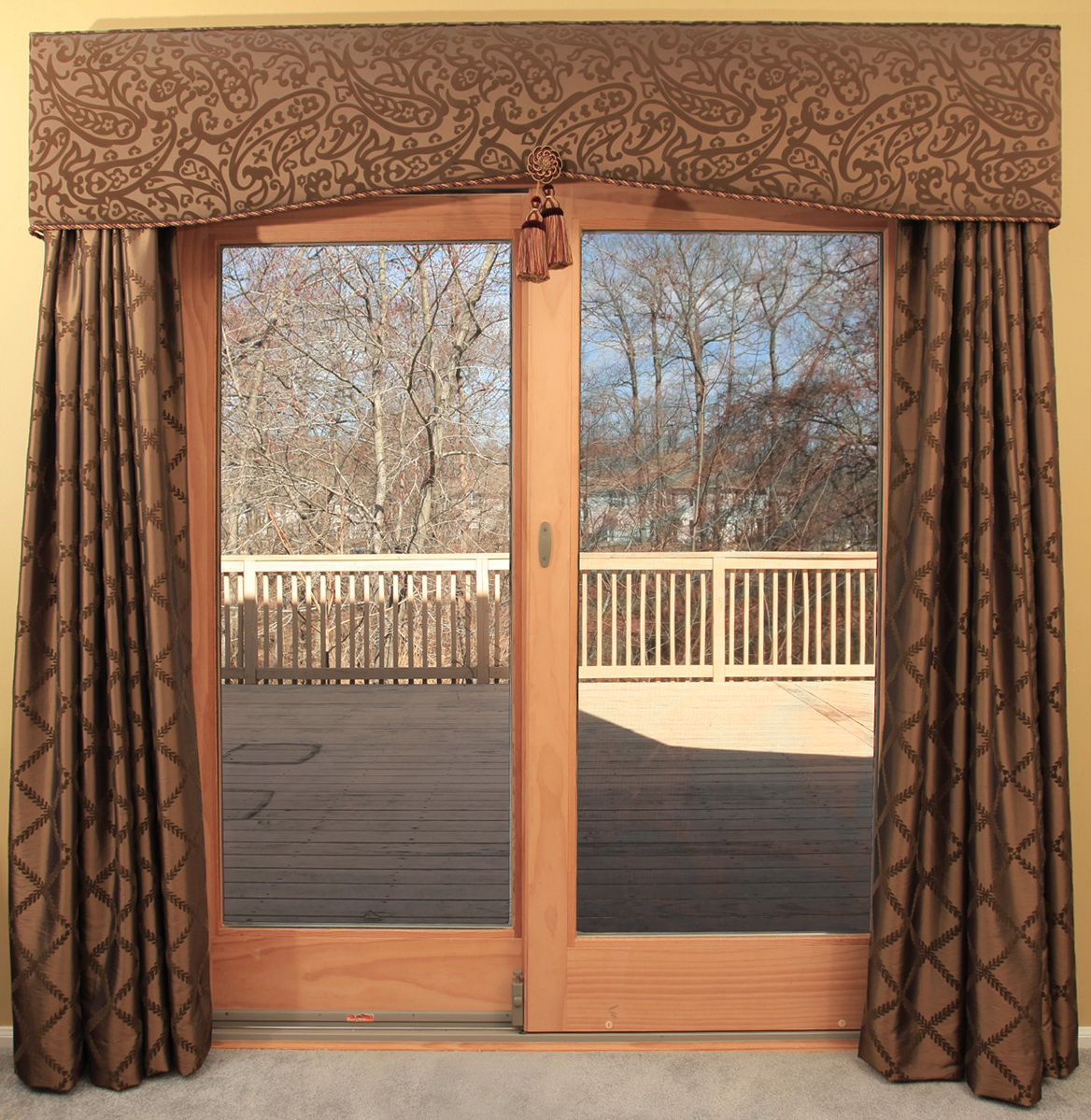 Kitchen Patio Door Curtain Ideas Home Design Ideas
