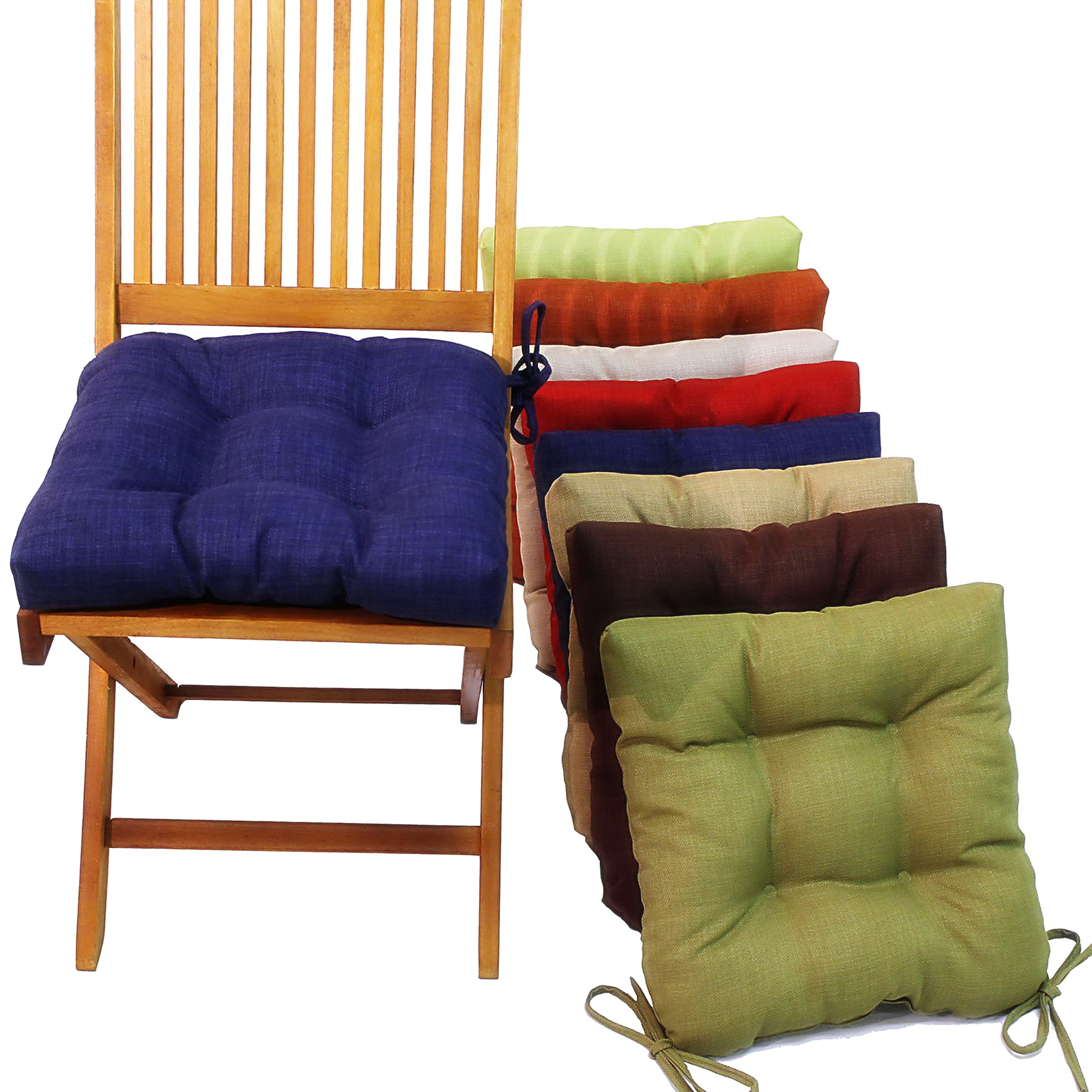 Kitchen Chair Cushions With Ties Kitchen Chair Seat Cushions And Back Country Style Tie On
