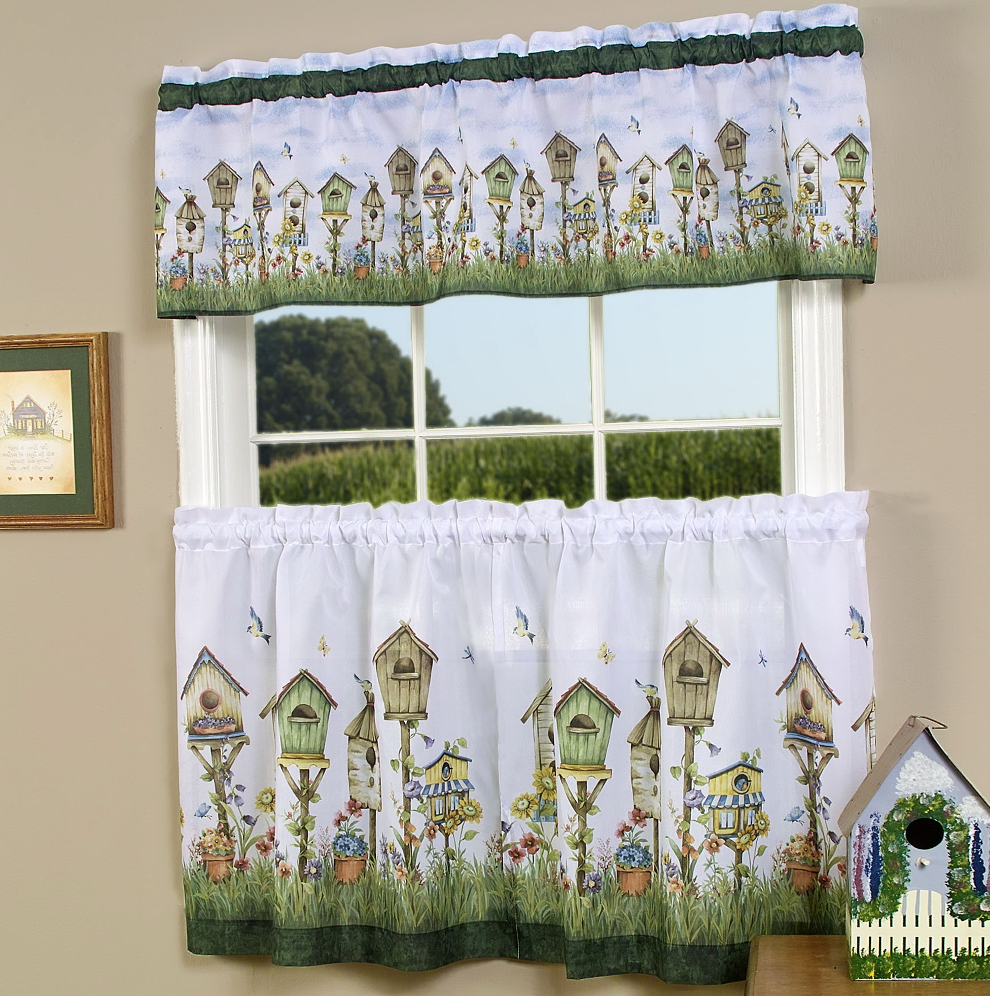 Kitchen Tier Curtains Sets
