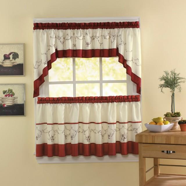 Kitchen Tier Curtains Walmart