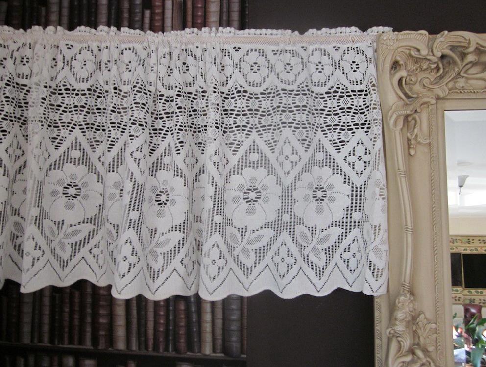 Lace Cafe Curtains Uk Home Design Ideas