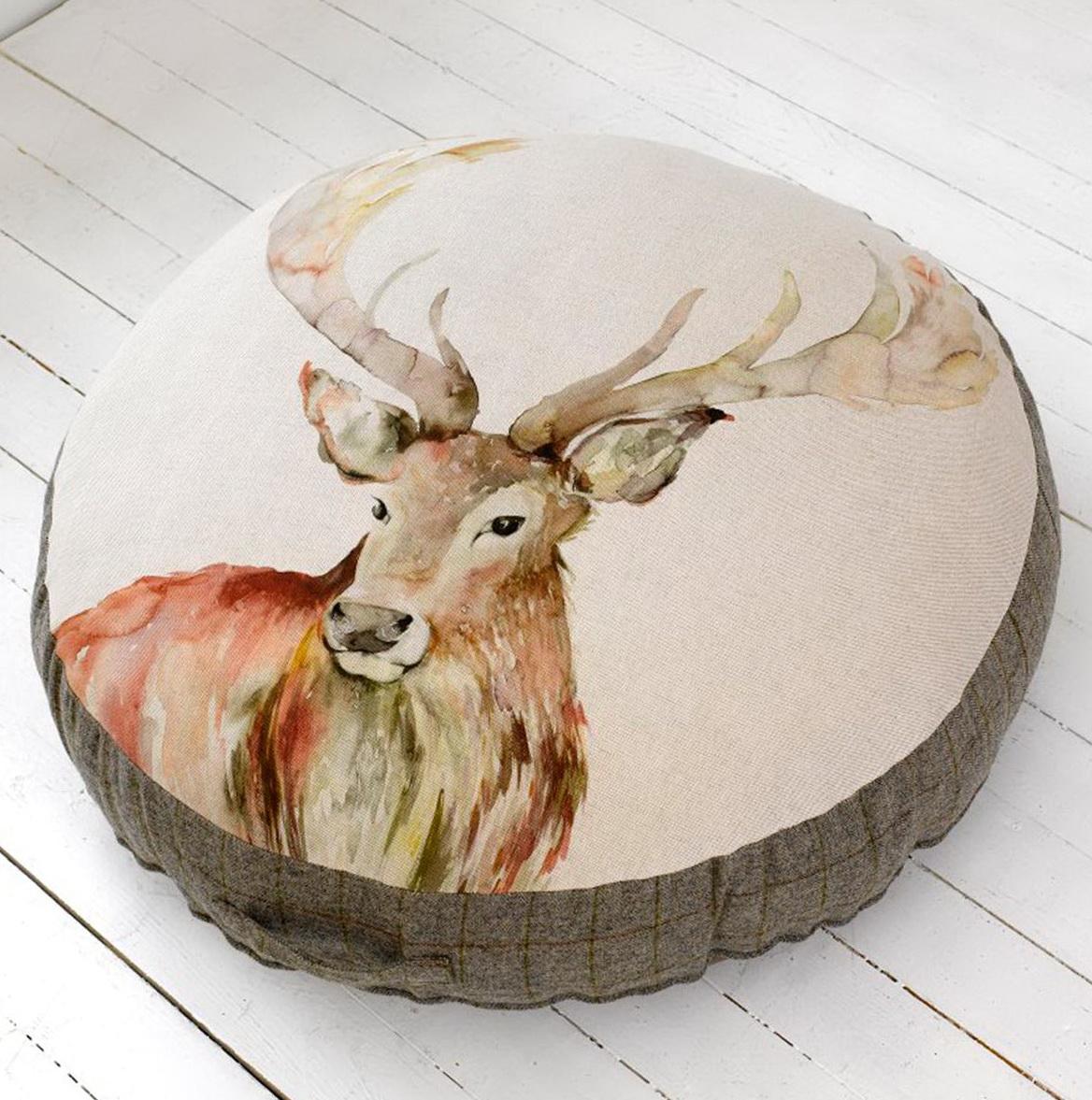 Large Round Floor Cushions