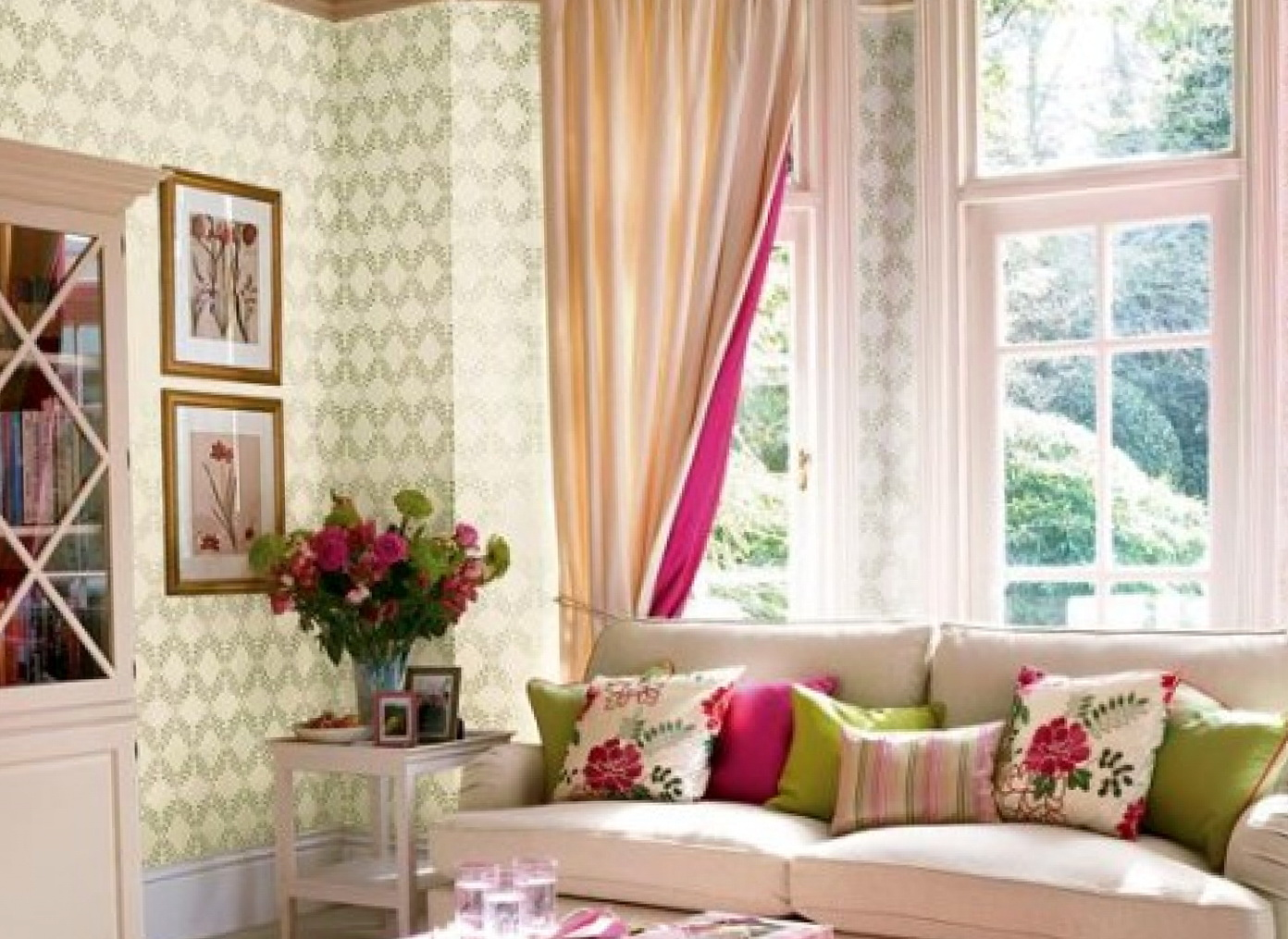 Latest curtain for living room home design ideas - Latest curtain design for living room ...