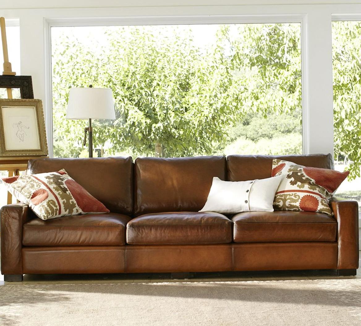 Leather Cushions For Sofa
