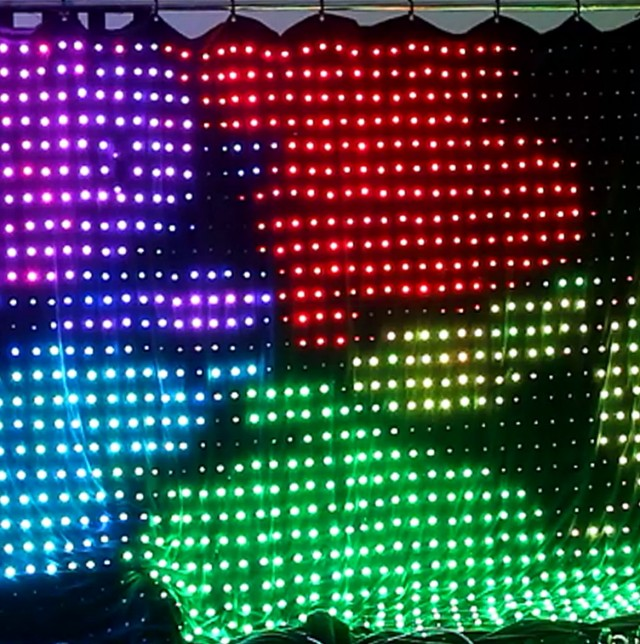 Led Video Curtain Ebay