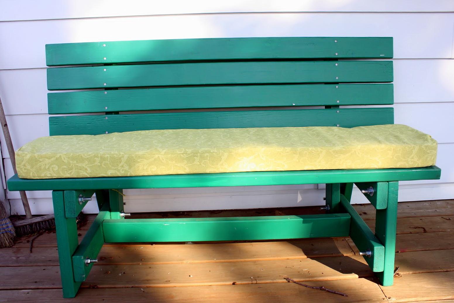 Make Cushion For Bench