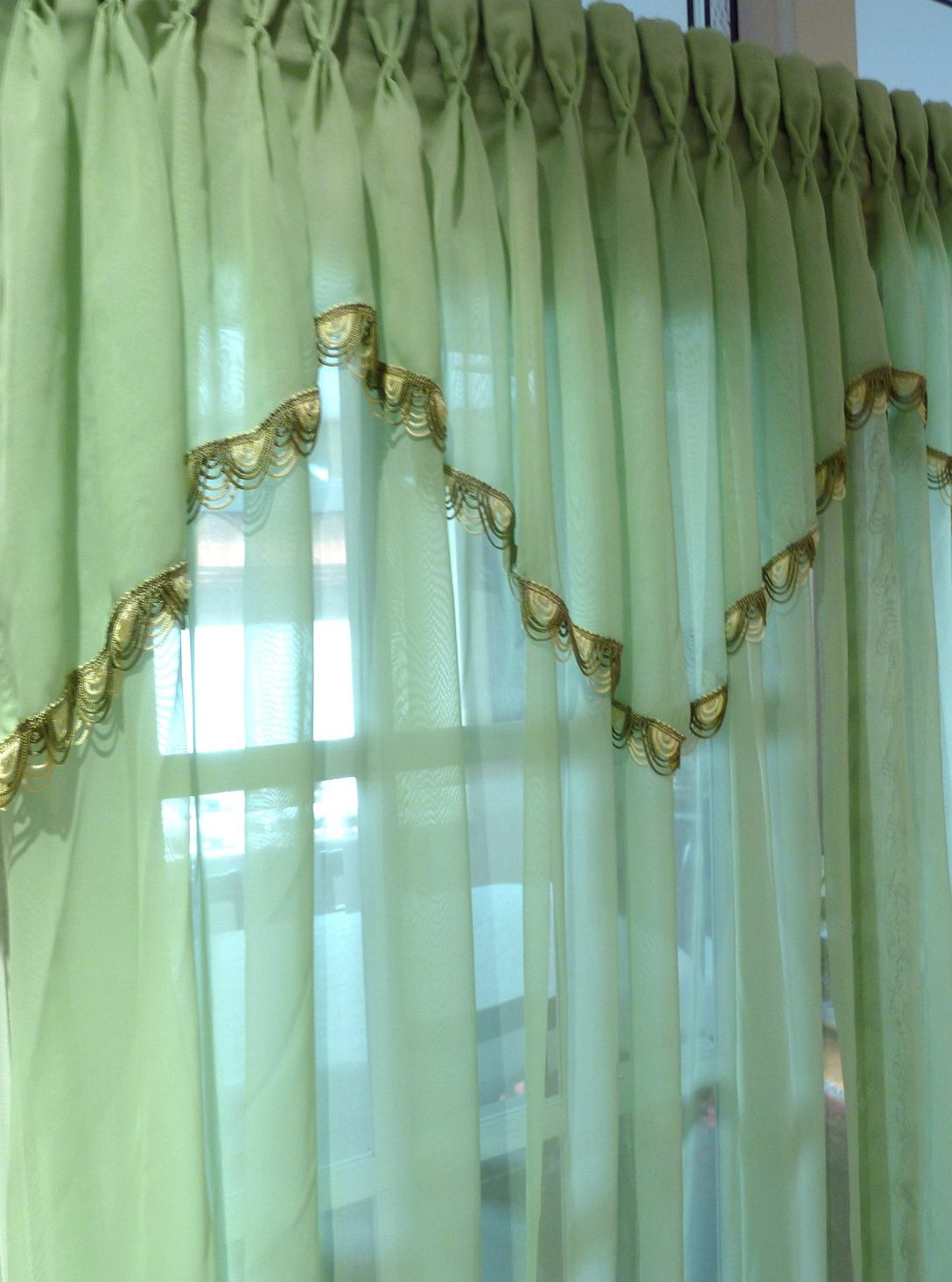 Mint Green Window Curtains Home Design Ideas