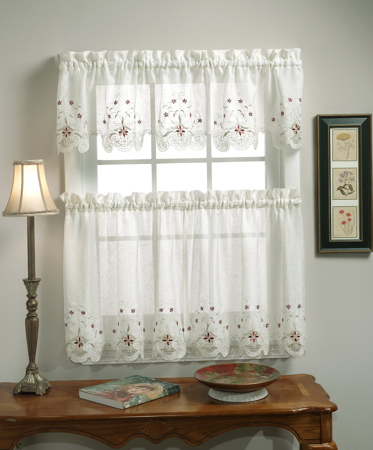 Multi Colored Sheer Curtains