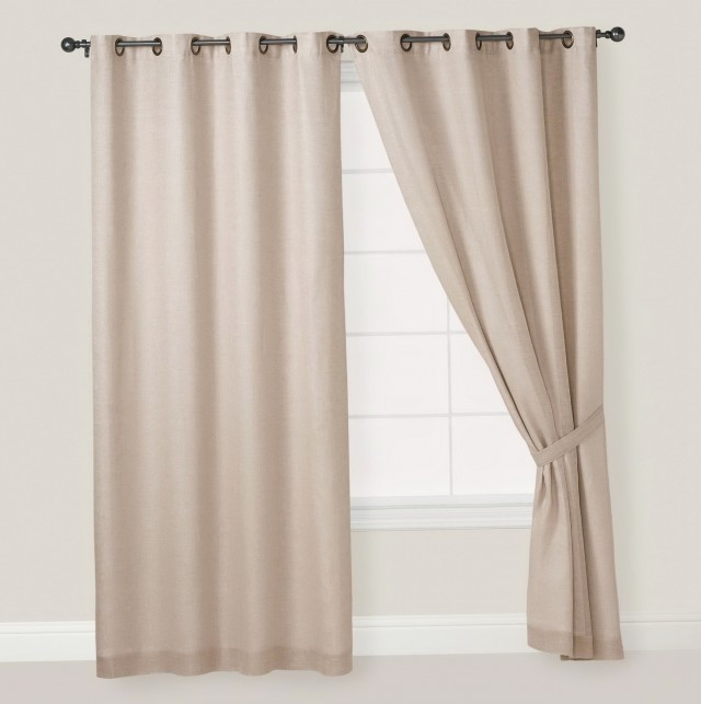 Natural Linen Curtains Sale