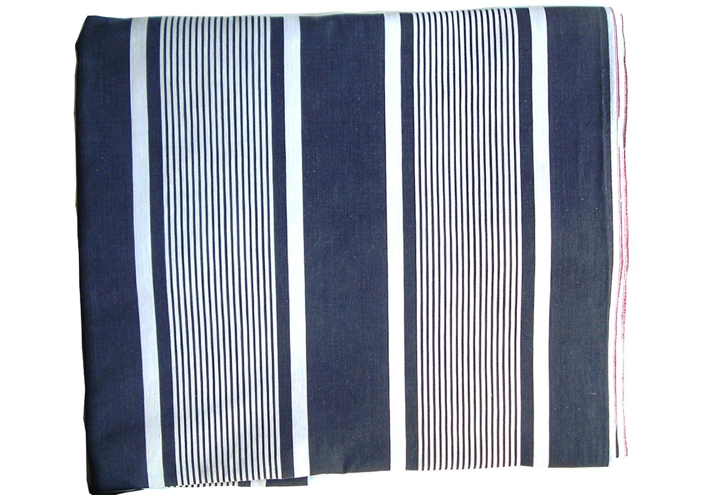 Navy Ticking Stripe Curtains Home Design Ideas