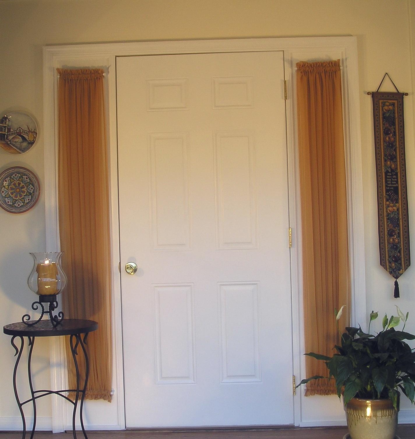 Net Curtain Door Panels