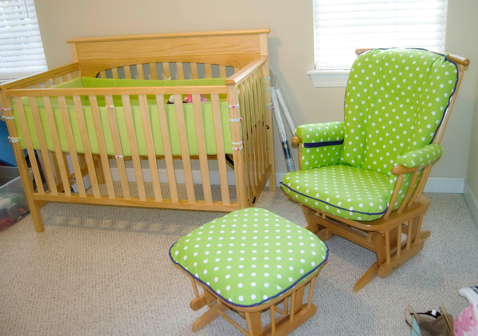 Nursery Glider Cushions Replacement