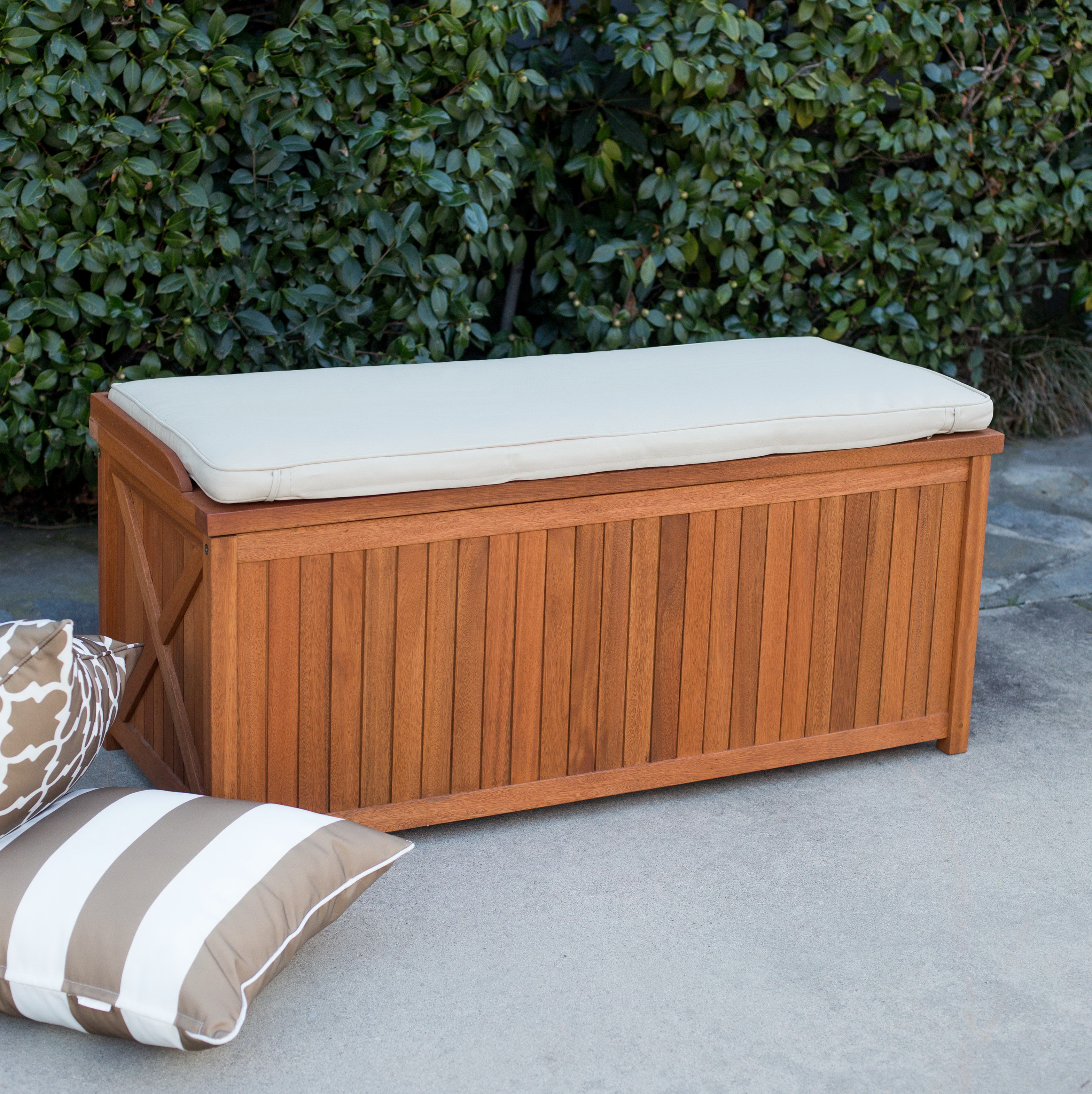 Outdoor Cushion Storage Box Home Design Ideas