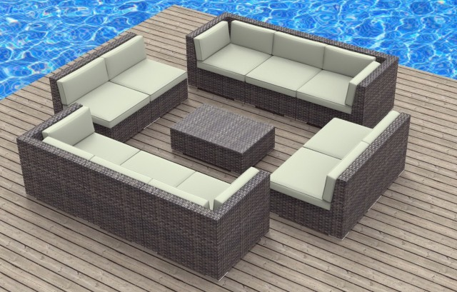 Outdoor Loveseat Cushion Set
