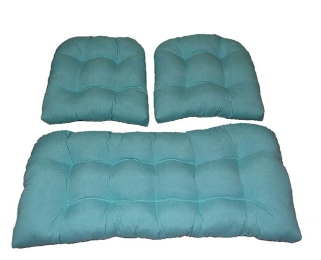Outdoor Settee Cushions Set Of 3 Clearance