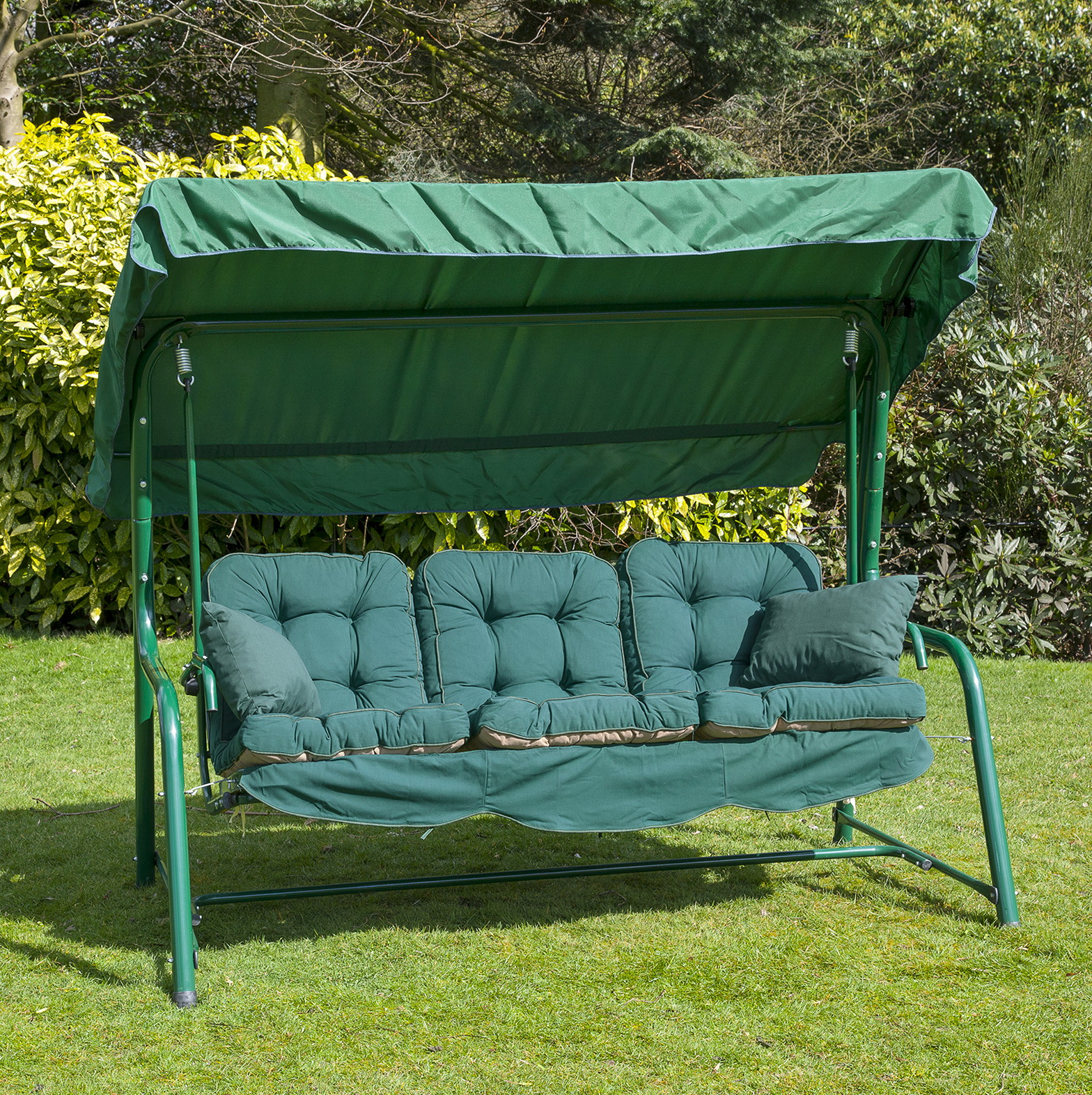 Outdoor Swing Cushion With Back