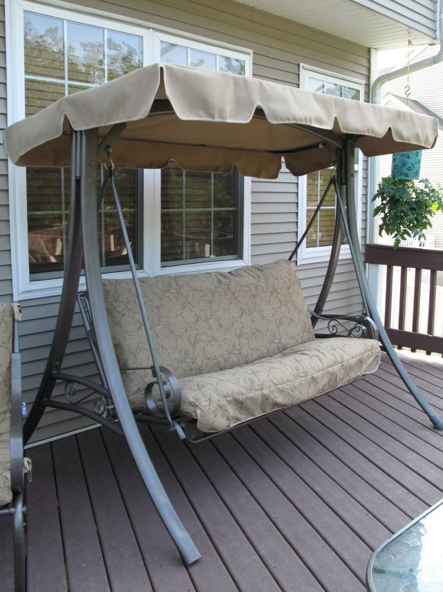 Patio Swing Cushion And Canopy Replacement
