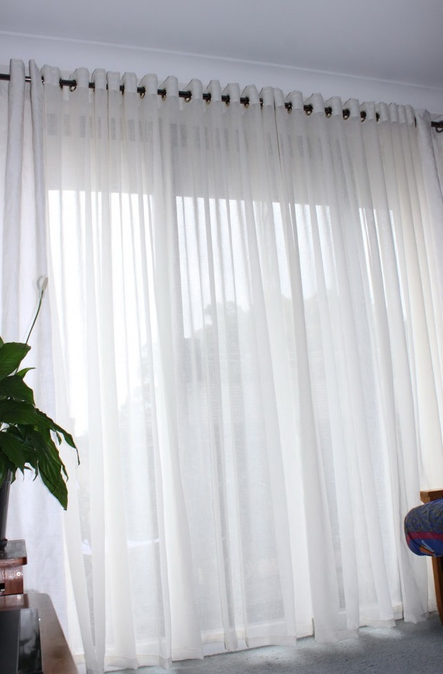 Patterned Sheer Curtains Australia