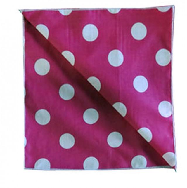Pink Polka Dot Curtains 90 Drop