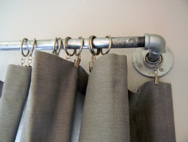 Pipe Curtain Rod Ideas