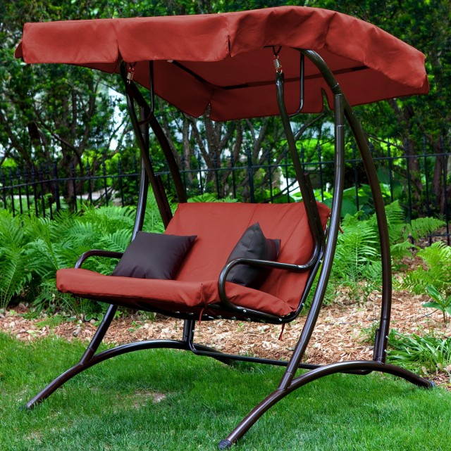 Replacement Swing Cushions And Canopy
