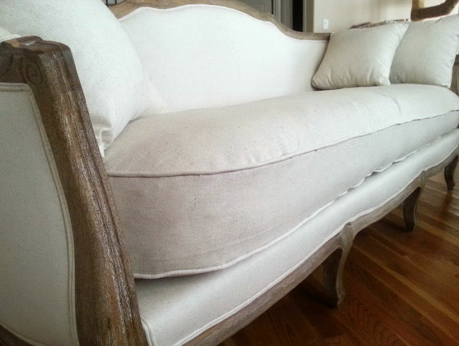 Reupholster Couch Cushions Video