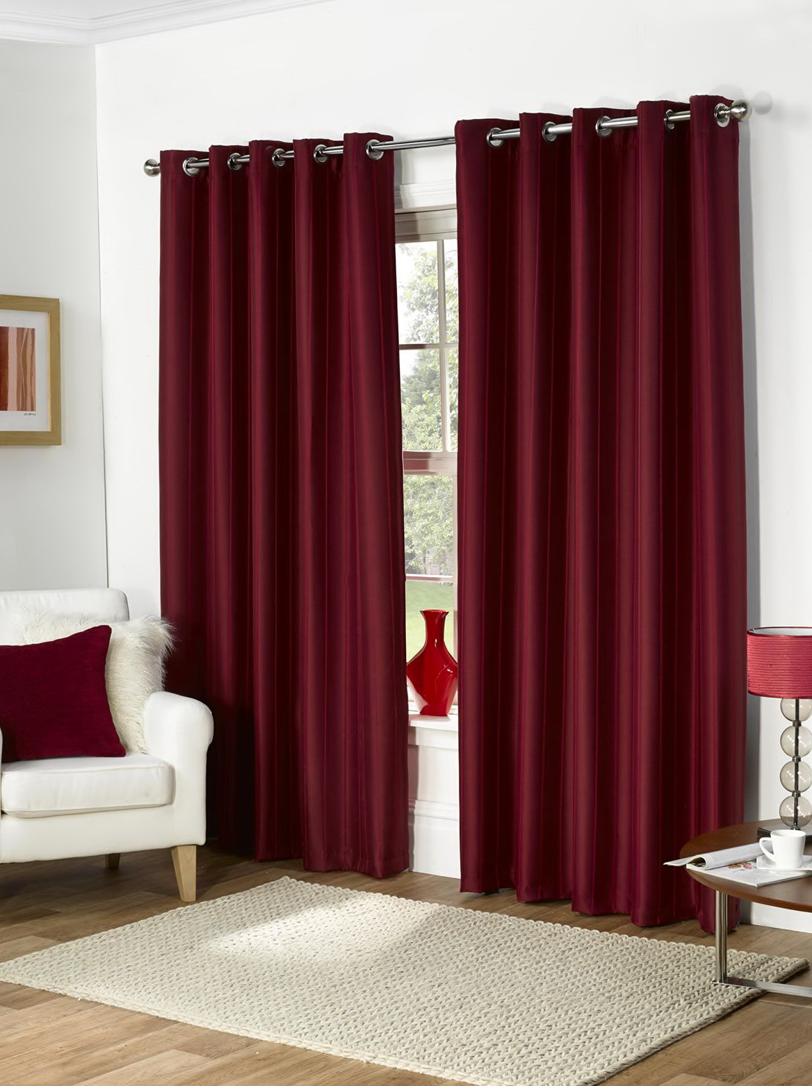 Ring Top Curtains 90 215 90 Home Design Ideas