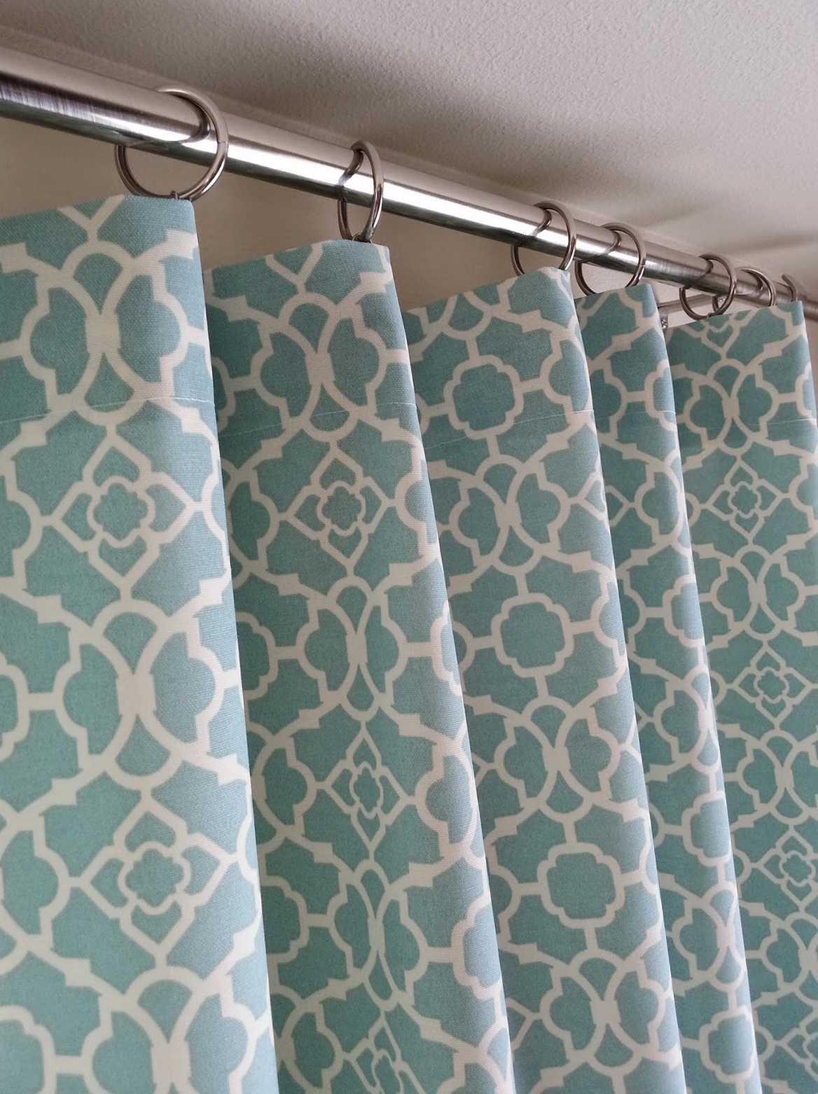 Ring Top Curtains How To Make