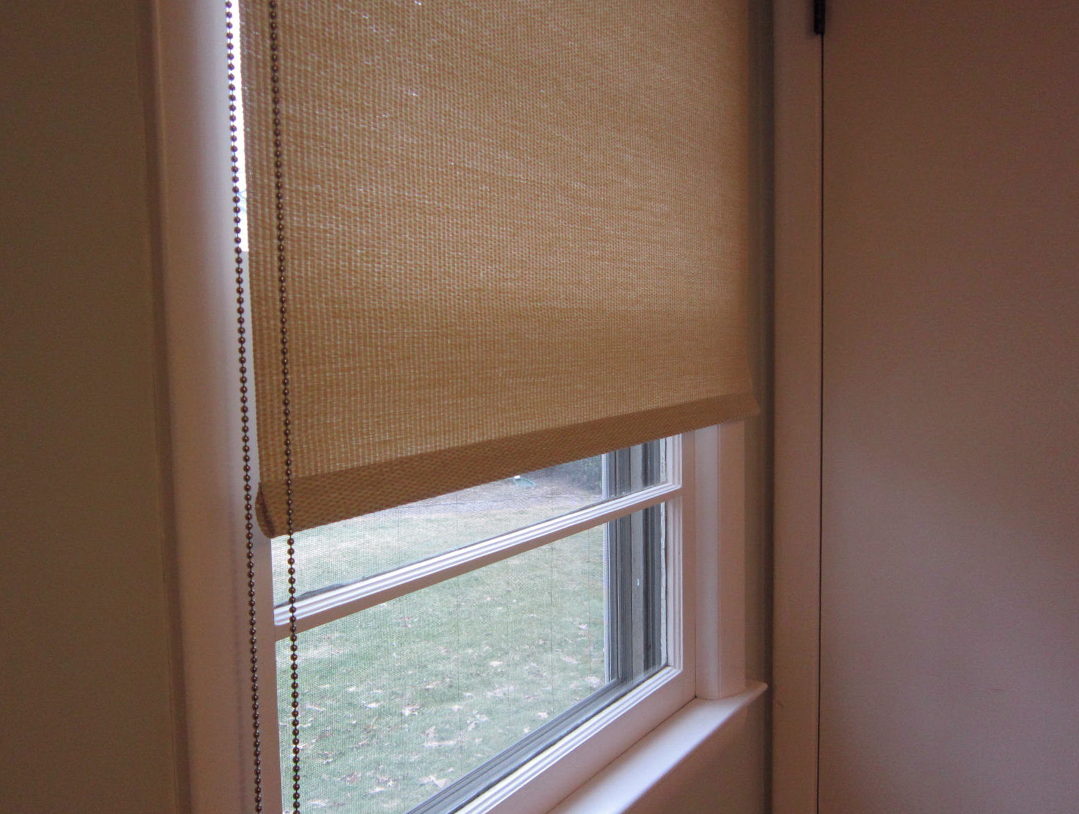 Roller Blinds With Curtains