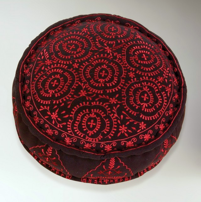 Round Floor Cushion Cover