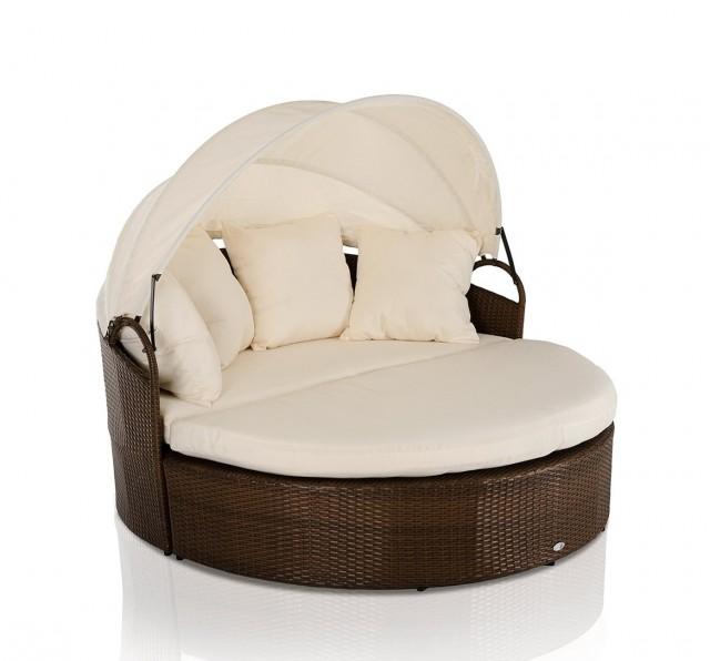 Round Futon Chair Cushion