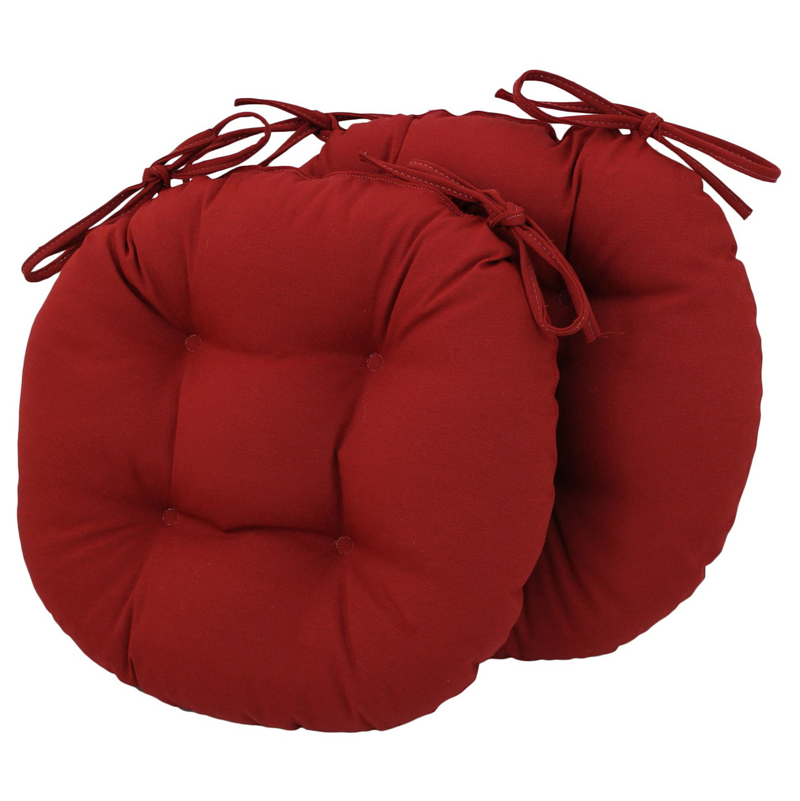 Round Stool Cushions With Ties