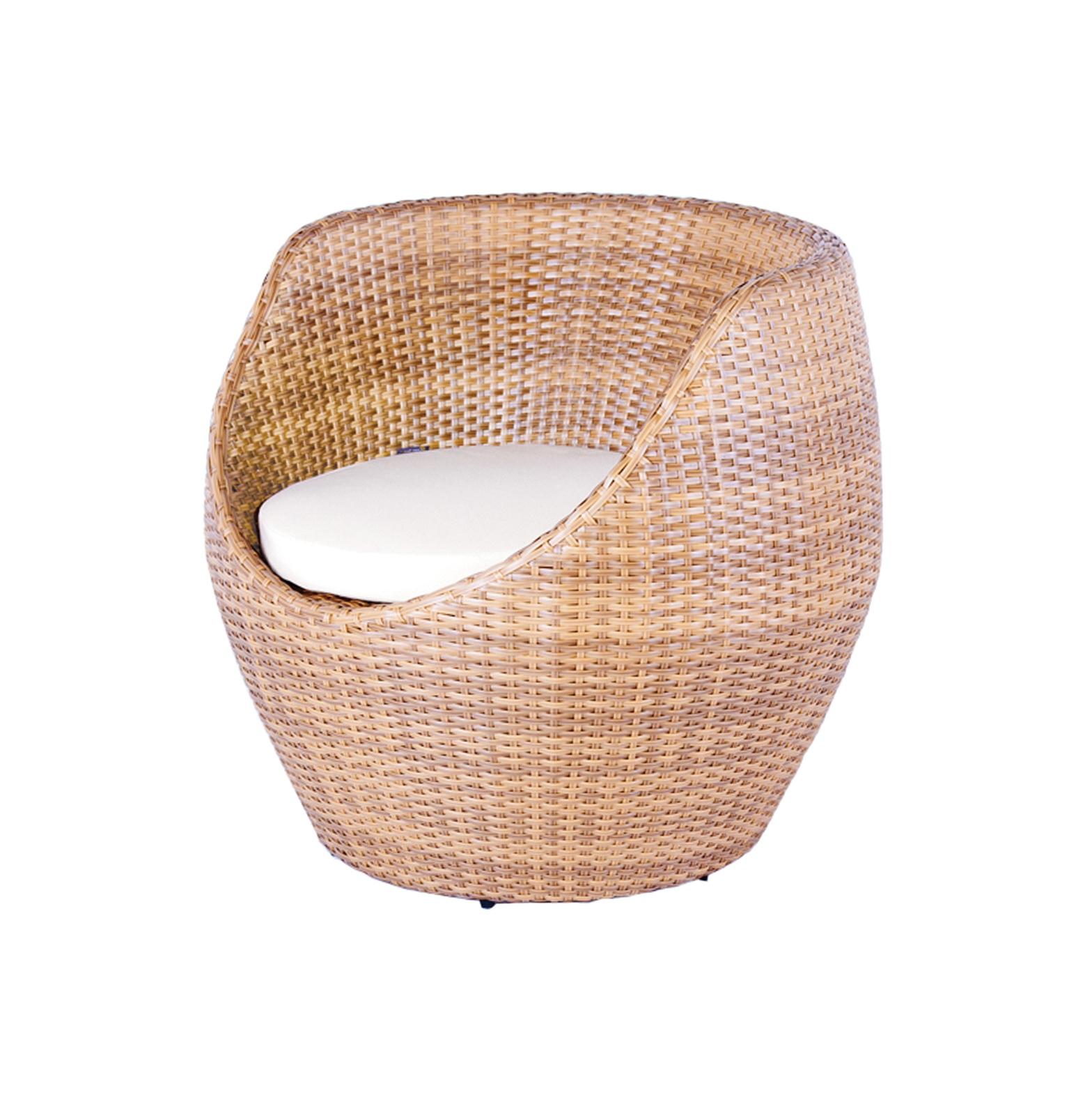 Round Wicker Chair Cushion Home Design Ideas