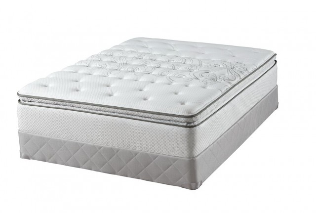 Sealy Posturepedic Cushion Firm Euro Pillowtop