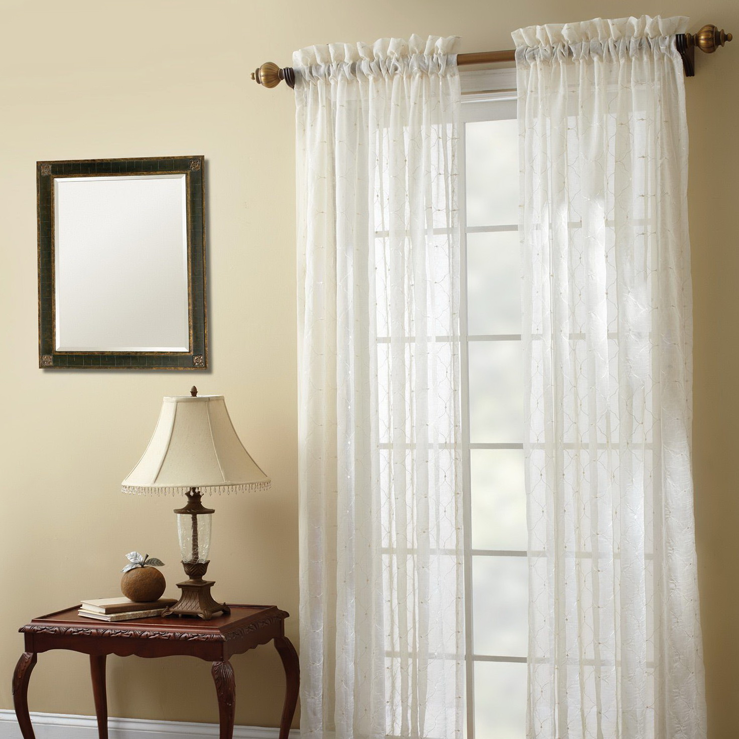 Sheer bathroom window curtains home design ideas for Bathroom window curtains