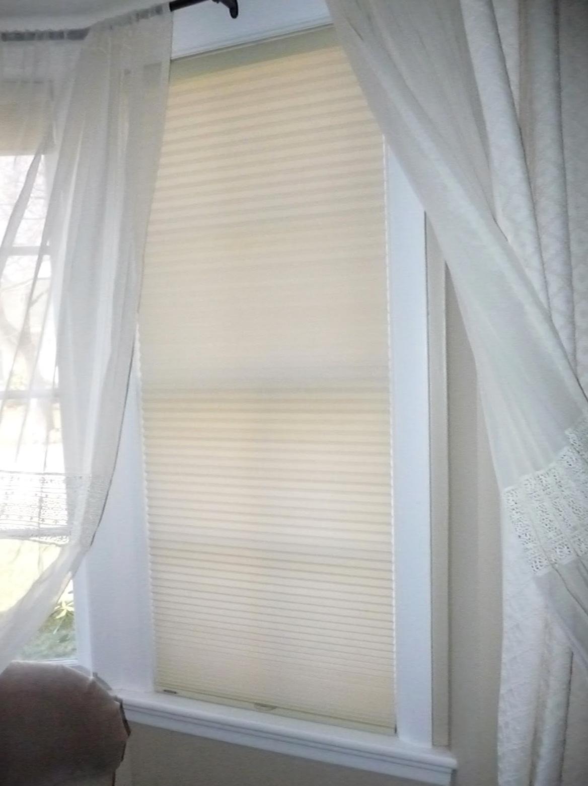 Sheer Curtains Inside Window Frame Home Design Ideas